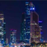 city buildings lights