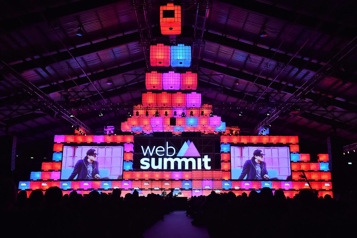 web summit event