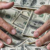 hands money